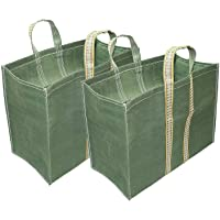 Truvic 2-Pack Grocery Shopping Bags, Different Size Heavy Duty Large Canvas Vegetables/Travelling Shopping Bag with…