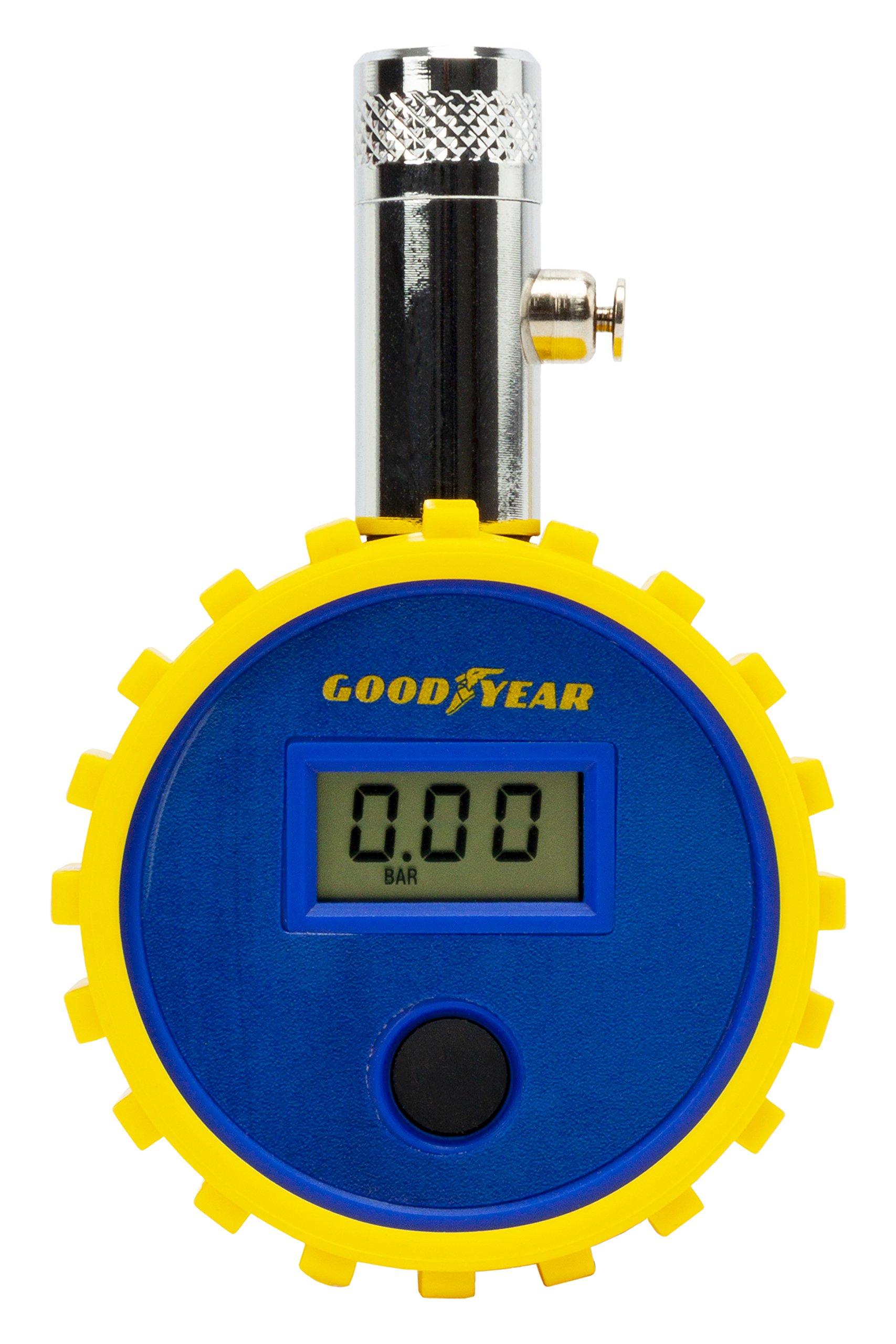 Good Year GOD0004 Medidor Digital sin Tubo de Presión de Neumáticos