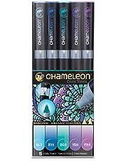 Chameleon Art Markers - 5 Pen Cool Tones