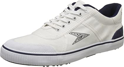 BATA Boy's Match White Sneakers - 10 Kids UK/India (28 EU) (8891043)