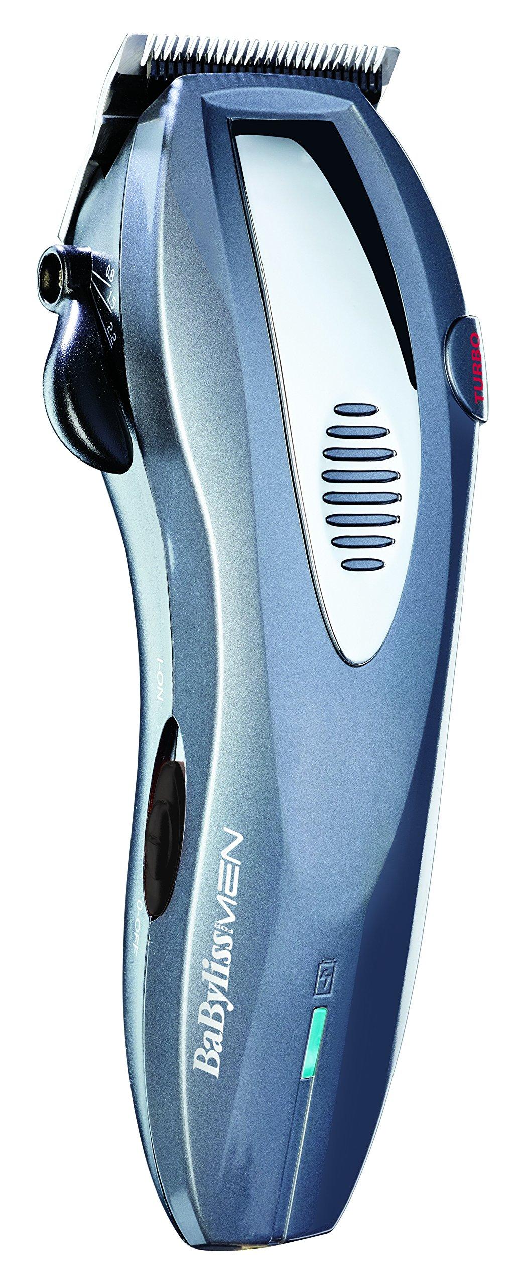 BaByliss Hair and Beard Trimmer Mains/Battery E934E - 81RHjyhz4pL - Babyliss Hair and Beard Trimmer Mains/Battery E934E