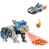 VTech Switch&Go Dinos, Pincho el tricerátops, Dinosaurio Que se transforma en vehículo, Juguete para niños +3 años, Versión E
