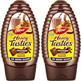 Dabur Honey Tasties Chocolate Syrup | Enriched with Vitamin D |No Added Sugar - 200gm (Pack of 2)