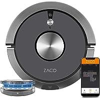 ZACO A9sPro Saugroboter mit Wischfunktion, App & Alexa, Mapping, bis zu 2 Std saugen/wischen, Staubsauger-Roboter für…