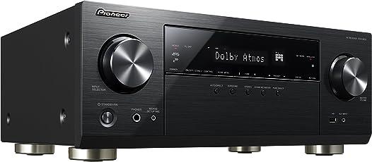 Pioneer 7.2 Kanal AV Receiver, VSX-933-B, Hifi Verstärker 135 Watt/Kanal, Multiroom, WLAN, Bluetooth, Streaming, Dolby Surround-Dolby Atmos-DTS:X, Musik Apps (Spotify, Tidal, Deezer), Schwarz, 1500585