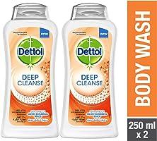 جل استحمام الجسم من ديتول على هيئة جل - 250 مل