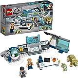 LEGO75939JurassicWorldDrWu'slaboratorium:OntsnappingvandeBabydinosaurussenSpeelgoedmetOwenMinifiguur