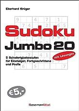 Sudokujumbo 20: 5 Schwierigkeitsstufen - für Einsteiger, Fortgeschrittene und Profis