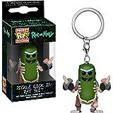 Funko Pop! Rick & Morty - Keychain Pickle Rick In Rat Suit [Edizione: Spagna]