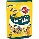 Pedigree Tasty Bites Dog Treats Cheesy Nibbles Cheese and Beef 140g