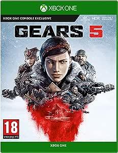 Gears of War 5 Edizione Standard, Pegi 18, Xbox One, 4K UKTRA HD, HDR, Microsoft