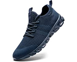Damyuan Mens Running Walking Tennis Trainers Casual Gym Athletic Fitness Sport Shoes Fashion Sneakers Ligthweight Comfortable