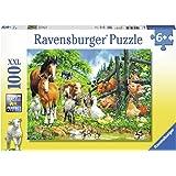 Ravensburger Kinderpuzzle 10689 Versammlung der Tiere