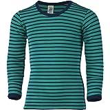 Engel Camiseta infantil de manga larga, lana y seda.