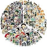 Autocollants Japonais de Dessins animés Mixtes: Stickers My Hero Academia, Hunter X Hunter Autocollants Haikyuu (150PCS) pour