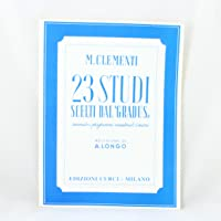 """23 studi scelti dal """"gradus ad parnassum"""". Pianoforte"""