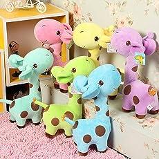 Kinder Spielzeug SOTEER Plüschtier Giraffe Kuscheltier Ab 3 Jahren, ca. 18 cm Plüschgiraffe Zimmer