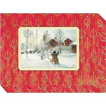 nostalgie weihnachtskarten set retro vintage gru karten. Black Bedroom Furniture Sets. Home Design Ideas
