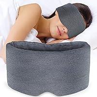 Sysrion Mascherina per dormire, ultra morbida e confortevole mascher per dormire, per casa, viaggi, lavoro a turno, naso…