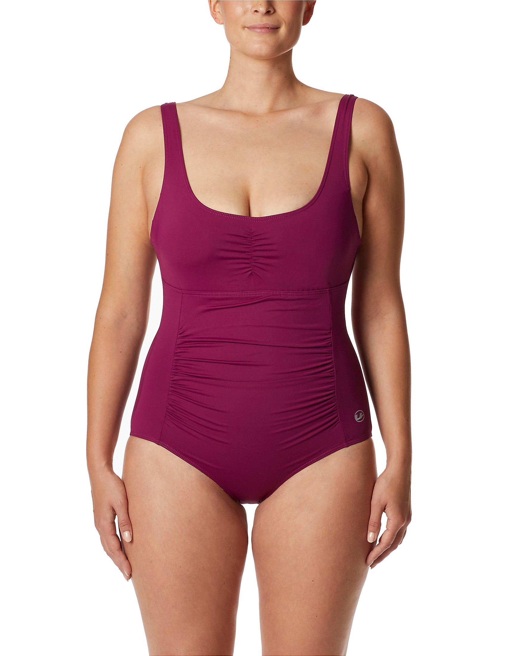 DELIMIRA Donna Costume da Bagno Due Pezzi Tankini Coppe Imbottite