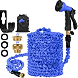 HOSE-PRO Patent Expandable Garden Hosepipe 100ft with 8 Function, Retractable Water Hose Pipes Flexible Expanding Hosepipes C