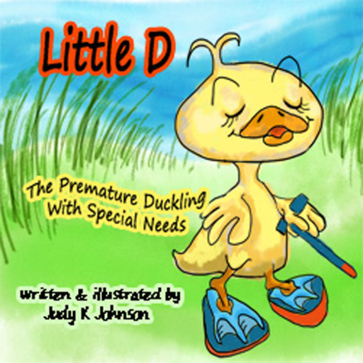 Little D, The Premature Duckling with Special Needs Johnson Farm