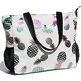 Große Strandtasche, wasserabweisend, leicht, 50,8 cm, für Damen, Übergröße, Tragetasche für Fitnessstudio, Strand, Reisen, Po