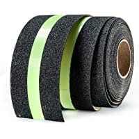 LifeKrafts Anti Slip Tape with Glow in the Dark. Size:5M*50MM - Non Skid Glow Safety Tape, Self Adhesive. Premium…