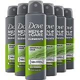 Dove Men+Care Mineral & Sage Deodorant - 6 x 150ml - Voordeelverpakking
