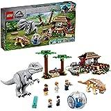LEGO 75941 Jurassic World Indominus Rex vs. Ankylosaurus, Dinosaurus Speelgoed met Gyrosphere voor Kinderen Vanaf 8 Jaar
