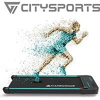 CITYSPORTS Tapis de Course Electrique Moteur 440W, Bluetooth Haut-parleurs Intégré, Vitesse Réglable, Écran LCD…