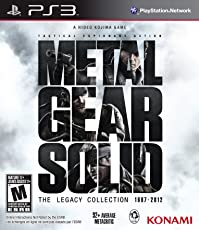 Metal Gear Solid: Legacy Collection - Playstation 3 (Artbook non incluso)
