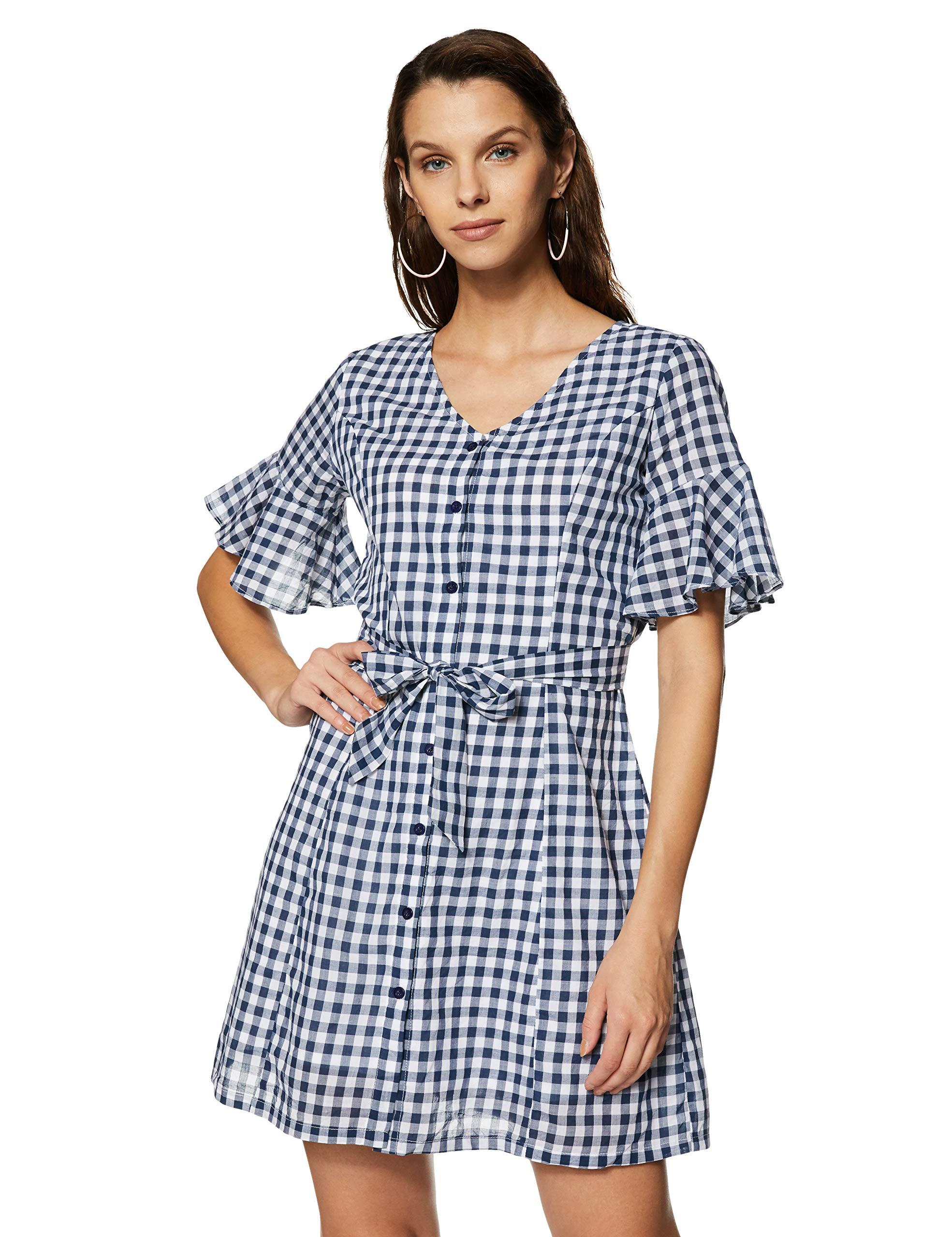 FabAlley Women's Shirt Mini Dress
