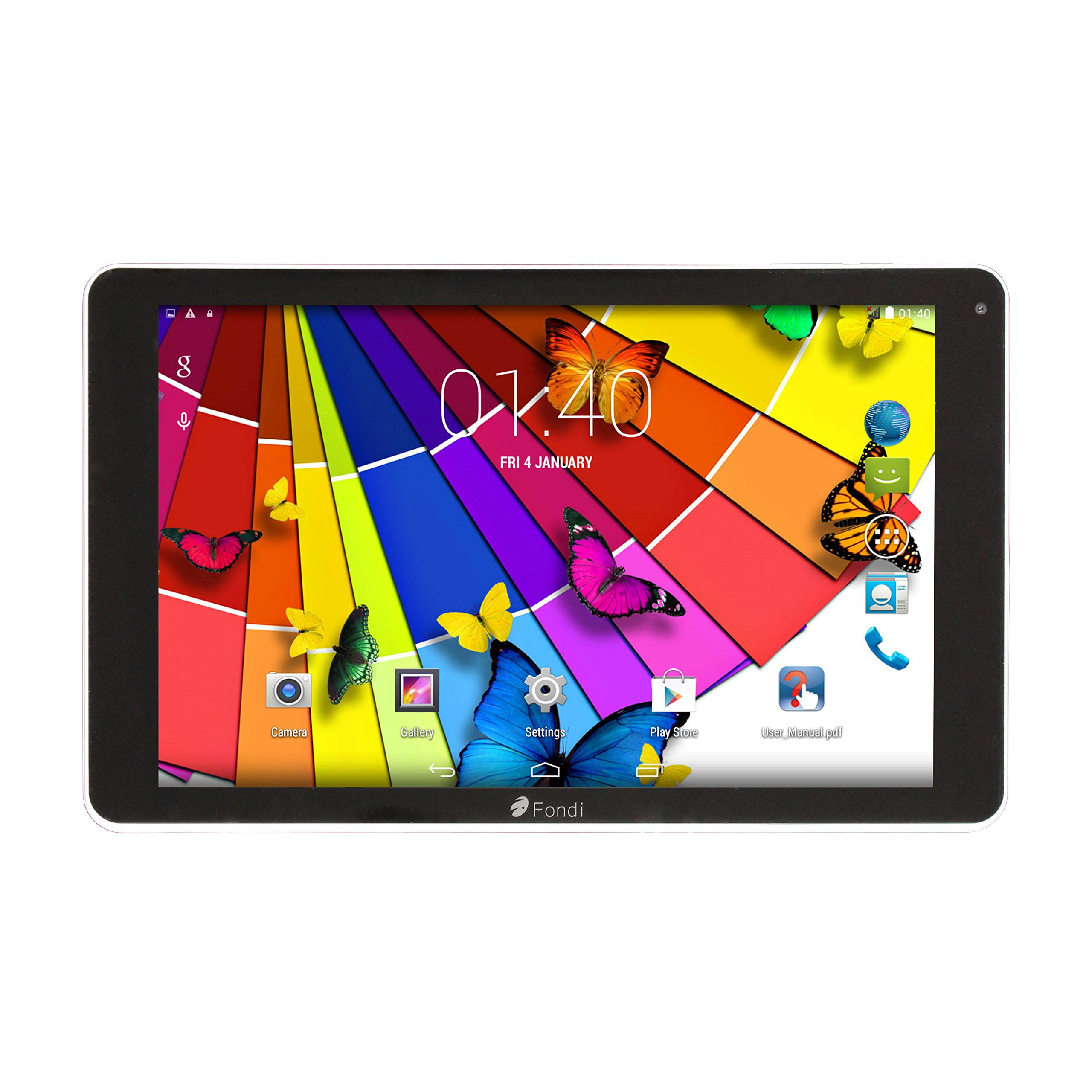 "10.1"" pollici Tablet PC Android Quad Core 16GB 1GB RAM - 3G Tablet Dual SIM Phone Phablet – IPS, GP"