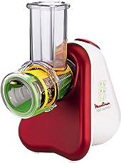 Moulinex DJ7535 Fresh Express Tritatutto Multifunzione con 3 Accessori e Ampio Tubo di Alimentazione
