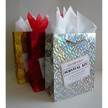 21st Birthday Survival Kit For Female Fun Gift Idea Novelty Present