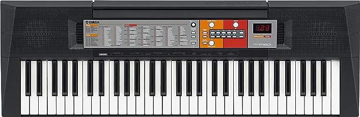 Yamaha PSR-F50 Tastiera Portatile, 61-Tasti, Display LCD, 6 Watt