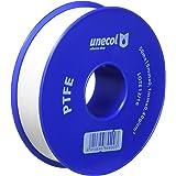 Unecol 8440 Cinta (PTFE, rollo), Blanco, 50 m x 19 mm x 0,1 mm, 0,40 g/cm³