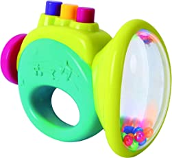 Toyhouse Trumpet Baby Rattle, Multi Color