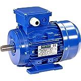 Pro-Lift-Werkzeuge 3-Phasen Drehstrommotor 0,55 kW 380 V Elektromotor 1370 U/min Industriemotor electric motor B3 Drehstrom 550W 230V/400V