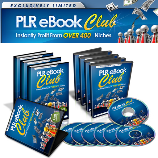 PLR Ebook Club : Top Quality Private Label Products & Training - 2011 -