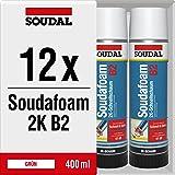 Soudal Soudafoam 2K B2 schuim adapterschuim kozijnschuim snelschuim 400 ml