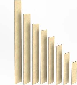 150mm Holz Bretter 12mm Siebdruck Brett-Zuschnitte beschichtet L/ängen 1m 1220 mm 2m Birke Multiplex Sperrholz Brett L/änge