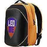 Prestigio LEDme MAX Backpack, LED Rucksack 25 Liter, Smart Display Schulranzen mit Intelligenter LED-Anzeige, Programmierbare