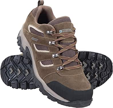 Mountain Warehouse Voyage Mens Waterproof Shoes - Lightweight Hiking Boots, Fast Dry Walking Boots, Eva Midsole, Mesh, Rubber Outsole Running Shoes - for Travelling