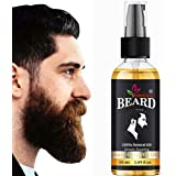 Bionicaid® Beard And Moustache Growth Oil With All Natural Ingredients For Faster Beard Growth Hair Oil (50 ml)