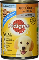 Pedigree Junior Hundefutter, 12 Dosen (12 x 400 g)