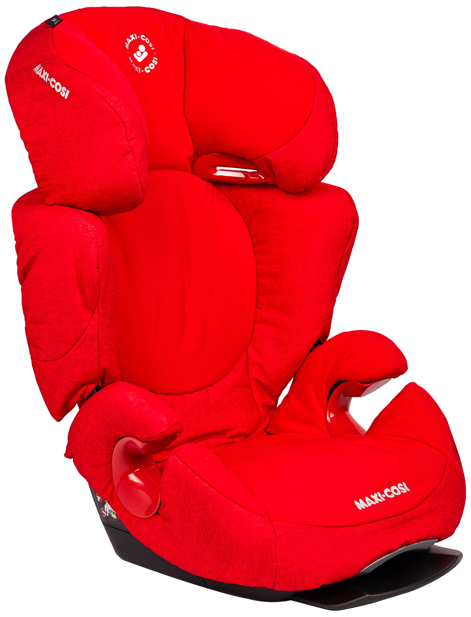 Maxi-Cosi Rodi AirProtect Child Car Seat, Lightweight Highback Booster, 3.5-12 Years, 15-36 kg, Nomad Red Maxi-Cosi Child car seat, suitable from 3.5 to 12 years (15 - 36kg) Easily install this safe car seat with a 3-point seat belt and attach the anchorage point in the head rest through your cars head rest Patented air protect technology in headrest reduces the risk of head and neck injuries up to 20 percent 3
