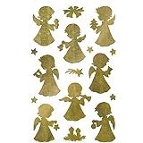 """AVERY Zweckform ZDesign Weihnachts-Sticker """"Goldengel"""""""