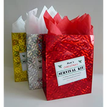 SECRET SANTA Survival Kit. Novelty Christmas Gift. Fun Festive ...